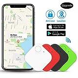 Kimfly Schlüsselfinder Anti-Lost Tracker, Bluetooth Tracker Wallet Telefonschlüssel Alarm Reminder für Telefon Haustiere Schlüsselbund Brieftasche Gepäck,etw.Item Finder Smart Tracker