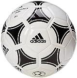adidas Tango Glider Trainingsball Fußball Ball, White/Black, 5