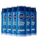 Nivea Men Shampoo Power Clean - 6er Pack (6 x 250 ml) - gesamt: 1500 ml