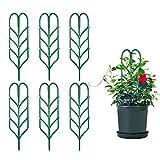 Comius Sharp Kletterpflanzen Unterstützung, 6 Stück DIY Garten Pflanzkübel Mini Kletterpflanzen Rankgitter Pflanzenkäfige, Gartenranken Rankhilfe für Kletterpflanzen und Reben