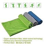 WeYingLe Kühltuch Kaltes Handtuch Schnelltrocknende Sportarten für Fitness, Yoga, Pilates, Golf, Schwimmen, 3 Farboptionen