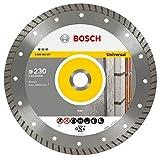 Bosch Professional Diamanttrennscheibe (für Stein, Ø: 230 mm, BohrungsØ: 22,23 mm, Zubehör für Winkelschleifer)