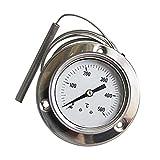 ConPush 500°C Backofenthermometer mit Edelstahlsonden für BBQ und Küche