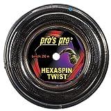 Pro Tennissaite Hexaspin Twist 1.25 mm für Spin 200m (1.25mm)