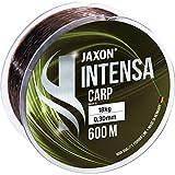 Jaxon Angelschnur 600m INTENSA CARP Spule schnell sinkende Karpfenschnur Feederschnur (0,325mm / 20kg)