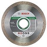 Bosch Professional Diamanttrennscheibe (für Keramik, Ø: 115 mm, Zubehör für Winkelschleifer)