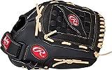 RAWLINGS Softball-Handschuh RSB-Serie, Unisex, RSS120C-6/0, Schwarz, 30,5 cm