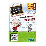 Albert E. ICH WEISS WAS! Lernspaß Grundschule Deutsch Klasse 3 + 4 CD ROM