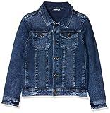 Name IT NOS Jungen Jacke NKMTYRION DNM Jacket 2196 NOOS, Blau (Medium Blue Denim), (Herstellergröße: 134)