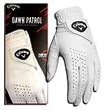 Callaway Herren Golf Handschuhe Dawn Patrol, Linke Hand (für den Rechtshänder), weiß, Medium/Large