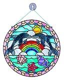 Melissa & Doug Glasmalerei leicht gemacht - Delfin