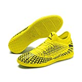 Puma Herren Future 4.4 IT Futsalschuhe, Gelb (Yellow Alert-Puma Black), 44 EU