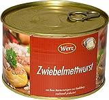 400g Hausmacher Dosenwurst Zwiebelmettwurst MHD:2/20