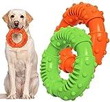 YHmall Haustier Hundekauspielzeug, Ring Spielzeug Hund Trainingsspielzeug Hunde, Zahnreinigung Naturkautschuk Hundespielzeug für Große, Mittlere Hunde