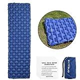 EXTSUD Ultraleichte Aufblasbare Isomatte selbstaufblasbare Isomatte Camping Matratze Schlafmatte  kleines Packmaß Luftmatratze  Ideal für Outdoor Camping,Reise,Wandern,Strand Hohe Qualität MEHRWEG