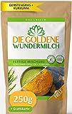 Die Goldene Milch   Kurkuma + Gerstengraspulver   FERTIGE MISCHUNG   HAUT & HAARE + IMMUNSYSTEM