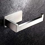 YIGII Toilettenpapierhalter KlopapierhalterOhneBohren Klopapierrollenhalter Selbstklebender Klorollenhalter für Badezimmer
