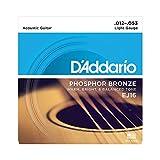 D'Addario EJ16 Phosphor Bronze leichte Akustikgitarrensaiten