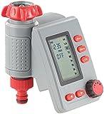 Royal Gardineer Wasserzeitschaltuhr: Digitaler Bewässerungscomputer BWC-100 mit Magnet-Ventil (Bewässerungsuhren)