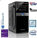 Memory PC Intel PC Core i5-7500 4X 3.4 GHz, 16 GB DDR4, 240 GB SSD + 2000 GB Sata3/-600, Intel HD 630 Grafik, Windows 10 Pro 64bit