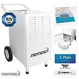 Nemaxx BT55 Bautrockner Kondenstrockner Luftentfeuchter Raumentfeuchter Entfeuchter Trockner (max. 55l/Tag)