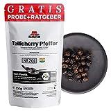 Hansefein PUR Schwarzer Tellicherry Pfeffer TGSEB ganz (350g im Aromaschutzbeutel)