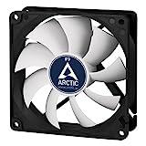 ARCTIC F9 - 92 mm Standard Gehäuselüfter, extrem leiser Lüfter, Case Fan mit Standardgehäuse, Push- oder Pull Konfiguration möglich, 1800 RPM
