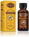 Lymphdrainage Ingweröl Ätherisches, Lymphatic Drainage Ginger Oil für Aromatherapie und als Basisöl für Massageöle 30ml