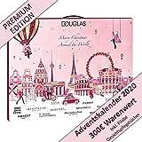 Douglas Adventskalender 2020 Beauty Weihnachtskalender Kosmetikkalender Frauen Advent Kalender für Damen Mädchen im Wert von 200€ mit 24 Beauty Geschenke Überraschungen für Sie