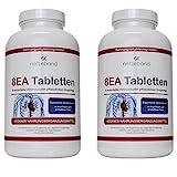 8 essentielle Amino Pattern 8EA - Aminosäuren 480 vegane Tabletten 2 Packungen im optimalen Verhältnis L-Leucin, L-Valin, L-Isoleucin, L-Phenylalanin, L-Lysin, L-Threonin, L-Methionin und L-Tryptophan