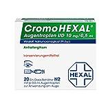 CromoHEXAL Augentropfen UD, 20 St. Ein-Dosis-Behälter