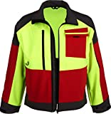 Watex Forst Softshell Jacke Forest Jack RED (L, gelb-rot-grau)