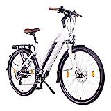 NCM Milano Plus Urban E-Trekking E-Bike 48V 16Ah 768Wh Weiß 28'