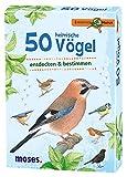 moses. Expedition Natur - 50 heimische Vögel   Bestimmungskarten im Set   Mit spannenden Quizfragen