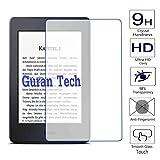 Guran® Displayschutz Glasfolie für Kindle Paperwhite, 15 cm (6 Zoll) Tablet Hartglas Schutzfolie Film