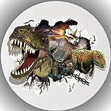 Premium Esspapier Tortenaufleger Dinosaurier T27
