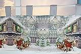 Kamaca Serie Christmas Time hochwertiges Druck-Motiv mit weihnachtlichem Motiv Eyecatcher in Winter Weihnachten (Bistrogardine 30x150 cm)