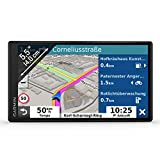 Garmin DriveSmart 55 MT-D EU Navi - Rahmenloses Touch-Display, 3D-Navigationskarten und Live-Traffic