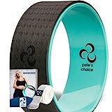 pete's choice Dharma Yoga Rad mit eBook inklusive & Yogagurt - Bequem & langlebiges Yoga-Zubehör I Yoga Wheel für mehr Flexibilität I Idealer Rückendehner