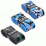 GAME.SET.WIN. Camo Grips – Die neuen Camouflage Griffbänder (3er-Pack) | Tennis, Squash, Badminton | nachhaltige Verpackung | Overgrip Griffband | starker Grip |