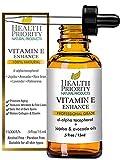 Vitamin E Bio Gesicht Öl - 100% natürliches Vitamin E Serum - reines Vitamin E hochdosiert - extra leicht auftragbar - Vitamin E Tropfen - Vitamin E Hautöl reduziert Falten - Flecken verblassen