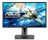 ASUS MG248QR 61,0 cm (24 Zoll) Gaming Monitor (Full HD, 3D-Fähig, HDMI, DisplayPort, FreeSync 144 Hz, 1ms Reaktionszeit) schwarz