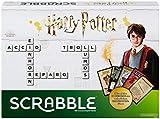 Mattel Games GMG29 - Scrabble Harry Potter Wörterspiel in deutscher Sprachversion, Familienspiele ab 10 Jahren