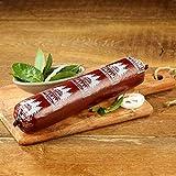 Schwarzwälder Kirschwasser Salami 0,7kg Kirschwassersalami milder Geschmack feine Kirsch Note geräucherte Spezialität