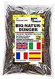 Biodünger Pellets aus Pferdemist - Blumendünger Naturdünger organisch mit Langzeitwirkung 7,5 kg