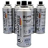 TronicXL 20 Gaskartuschen Nachfüllpack für Unkrautvernichter Gasbrenner Abflammgerät Bajonettanschluss