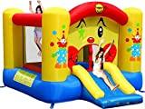 Happy Hop 9201 Bj9201–Clown-Rutsche und Hüpfburg, bunt