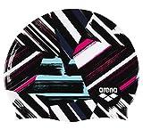 ARENA Print 2 Silikon Unisex Badekappe für Damen und Herren, Freak Rose/Multi