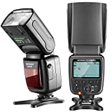 Neewer NW561 LCD Display Blitz Speedlite für Canon Nikon Panasonic Olympus Pentax Fijifilm und Sony mit Mi Blitzschuh , DSLR und spiegellose Kameras mit Standard Blitzschuh