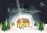Adventskalender Pralinen - Weihnachtskrippe - ohne Alkohol - Frankenwald Confiserie A.Bauer